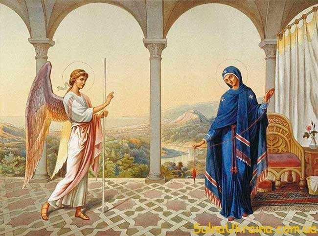 якого числа Благовіщення Пресвятої Богородиці в 2019 році