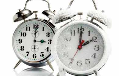 зимові годинник