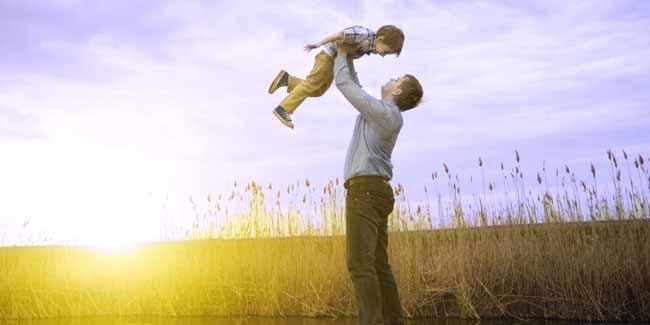 Батько с дитиною