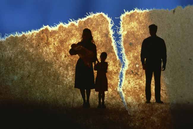 розділення сім'ї