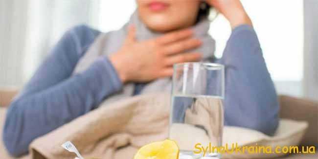 ода з лимоном при лікуванні грипу