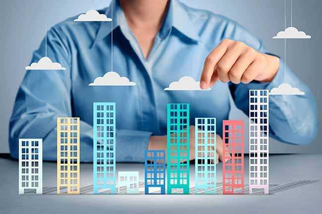 макеты новых зданий