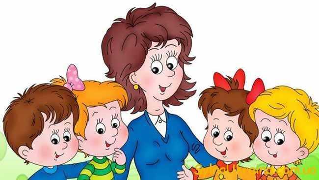 вихователька в дитячому садку