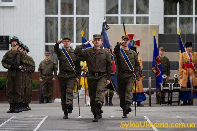 Традиції святкування дня Національної Гвардії 2017