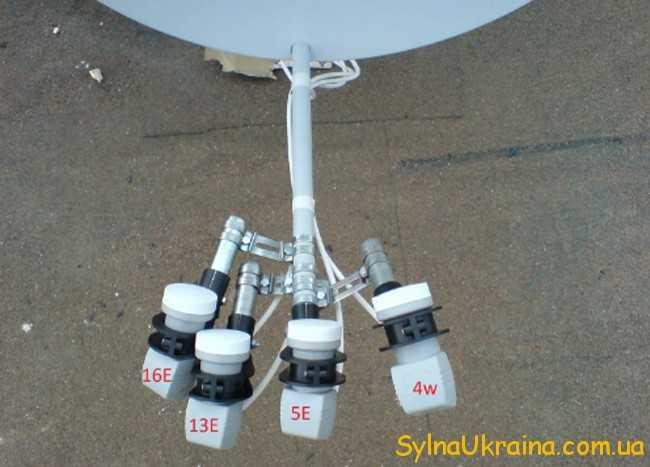 деталі супутникової антени