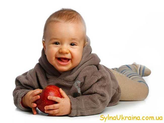 малюк і яблучко
