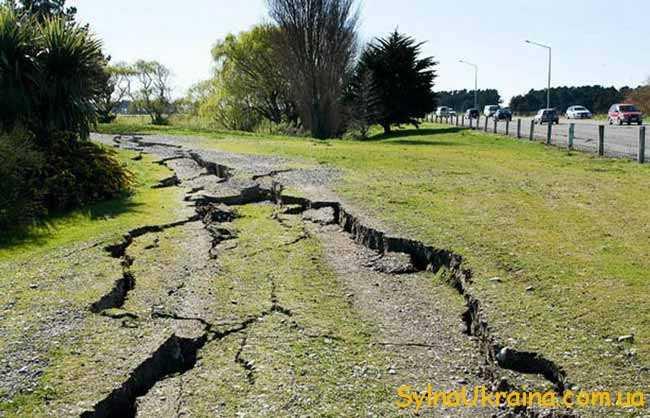вчені щорічно фіксують близько одного мільйона землетрусів