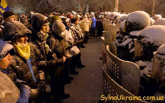 Майдан не розійшовся мирно...