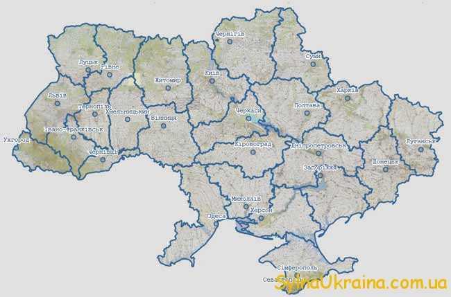 Кадастрова карта України 2018