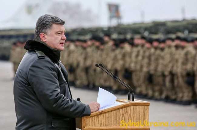 Петро Порошенко в одному зі своїх виступів ...