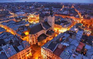 Щорічно Львів відвідують велика кількість туристів
