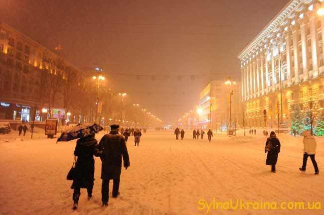 Прогноз погоди на грудень 2018 року в Києві