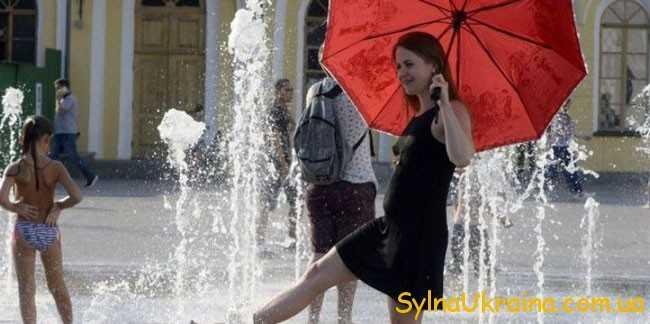 Погода на серпень 2018 року в Києві