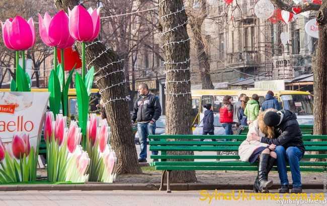 Погода на березень 2018 в Одесі