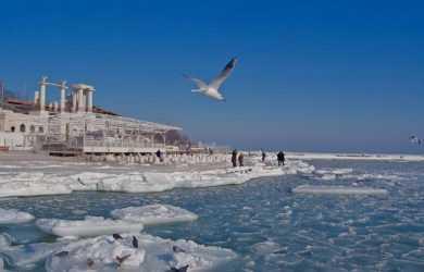 Погода на січень 2018 в Одесі