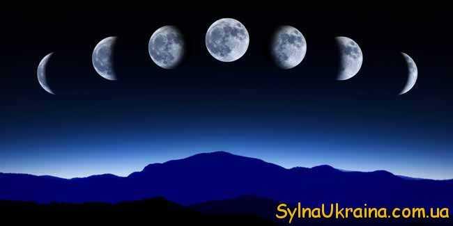 місяць і фази