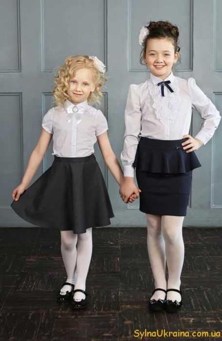 школьные юбки на klubok.com